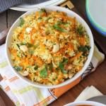 滑腸蘆筍紅米飯