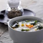 海帶芽蔬菜粥