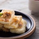 豆瓣醬香煎黃金豆腐
