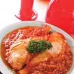 茄汁三文魚扒