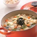 菠菜白腰豆湯