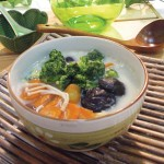 蘆筍鮮菇美肌豆漿鍋