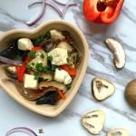 潤澤雜菌燜豆腐