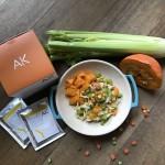 補氣南瓜燴十穀麵