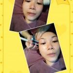 眼皮提升精神晒 – Joyce Chow